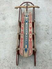 """Vintage 1965 Royal Racer #7353 Snow Sled - 54"""" long x 13"""" wide - Great Condition"""