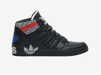 Adidas Men's Originals Hardcourt Hi Black Active Red Blue White FV5464