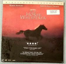 new THE HORSE WHISPERER laserdisc Robert Redford  Scarlett Johansson Sam Neil