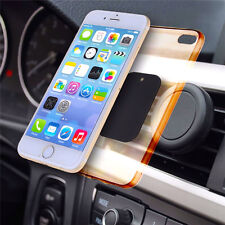 Universal Magnetic Car Air Vent Mount Clip Holder Dock For Cell Phone Tablet GPS