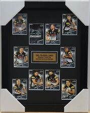PENRITH PANTHERS NRL 2018 SELECT CARD SET FRAMED - MERRIN, TAMOU, CLEARY
