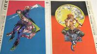 JoJo Araki Hirohiko Art exhibition 2018 Tokyo&Osaka Flyer Mini Poster Chirashi
