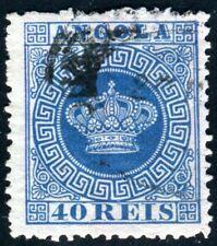 ANGOLA 1870 5I gestempelt KRONENZEICHNUNG 130€(D9685