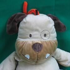 Carter'S Just One Year Musical Crib Pull Toy Bulldog Dog Plush Stuffed Animal