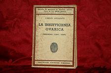 Libro Antico Illustrato 1941 La Insufficienza Ovale Lorenzo Antognetti Rarità