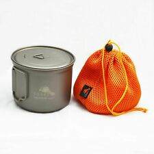 TOAKS Titanium 900ml D115mm Cooking Pot - POT-900-D115 - Outdoor Camping