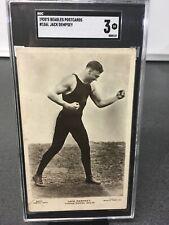 1920's Beagles Postcard #156L Jack Dempsey SGC 3 None Higher