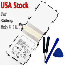 New Replace Samsung Galaxy Tab2 10.1 Note GT-P5113 GT-P7500 GT-P7510 Battery USA