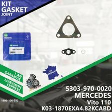 Gasket Kit Joint Turbo MERCEDES Vito 110 5303-970-0020 K03 OM601D23LA Melett-033