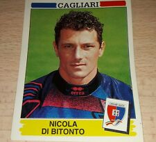 FIGURINA CALCIATORI PANINI 1994/95 CAGLIARI DI BITONTO ALBUM 1995