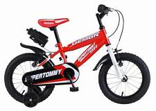 Sturdy 12 Inch Demon Super Tommy Kid Bicycle Ride on Bike 29 Cm Training Wheels