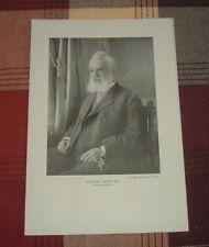 1911 ALEXANDER GRAHAM BELL Inventor Telephone Telegraph Harris-Ewing Photo Print