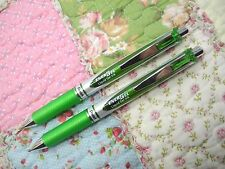 2pcs Pentel retractable Ener Gel BL77 0.7mm roller ball pen Lime Green(Japan)