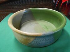 Great Collectible Outstanding River Pottery Clay Bowl-Artist Signed Wm.Edwards
