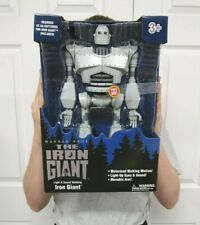 "The Iron Giant 14"" Robot Figure Talking Lights Sound Walking Sealed"