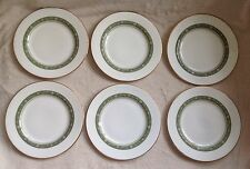 "6 X ROYAL DOULTON RONDELAY 6.5"" SIDE/TEA PLATES VERY GOOD CONDITION"
