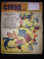 Pasta CIRIO Vera Napoli - Catalogo premi con raccolta etichette CIRIO_1°sem.1955