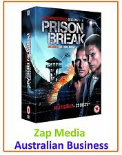 PRISON BREAK - COMPLETE DVD COLLECTION - SERIES SEASON 1 2 3 & 4 - NEW & SEALED