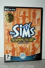 THE SIMS SUPERSTAR EXPANSION PACK GIOCO USATO OTTIMO PC CD EDIZIONE UK FR1 31468