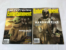 Entertainment Weekly October 2020 Cover 1 & 2 Lot The Mandalorian Strikes Back