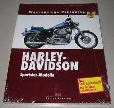 Reparaturanleitung Harley Davidson Sportster Modelle Wartung + Reparatur NEU!