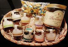 Honig Präsent Korb 8 Honigsorten & Blütenpollen & Honigbonbons Imker Qualität