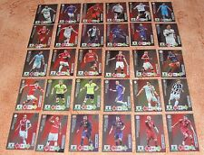 Adrenalyn Champions League 2012-13 Fan's Favourite complete set of 30 cards Rare