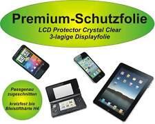 Premium-Schutzfolie kratzfest + 3-lagig HTC One S - blasenfreie Montage -