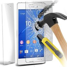 100 Genuine Tempered Glass Film Screen Protector for Sony Xperia Z3 Compact