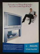 Philips TV & DVD Player - Magazine Advert #B3906