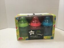 "Lot of 6 Tommee Tippee ""Fiesta Fun Time Carnival"" 9oz Bottles - New Open Box"