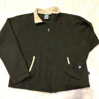 Kuhl ALF Men's Alfpaca Pullover Fleece Full Zip Jacket Size S Canada Sweater