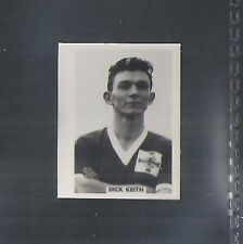 COLINVILLE-FOOTBALL INTERNATIONALS 1958-#31- NEWCASTLE - KEITH