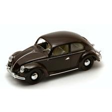 VW 1200 DE LUXE 1953 BROWN 1:43 Rio Auto Stradali Die Cast Modellino