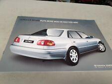 2000 ? TOYOTA COROLLA SEDAN Australian Sales Brochure