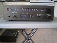 Vintage AKAI AM/FM stereo tuner AT-2400, black