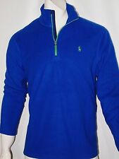 Polo Ralph Lauren half zip micro fleece pullover size large  royal blue NEW
