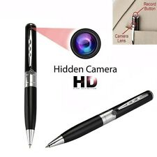 MINI Cámara Espía 32GB Grabadora Oculta Audio USB Lapiz Bolígrafo Spy Cam Pen
