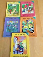 Lot of 5: Let's Read With THE LETTER PEOPLE BOOKS  2000  WITH FREE SHIPPING  PB