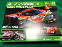 Le Mans Cars Collection 24 Hour Race Mazda 787B 1991 Hachette Magazine 1/43
