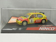 Ninco 50290 slot car citroen Saxo Super 1600 d. sola nº 2