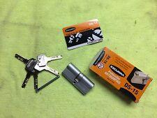 35x35 HIGH SECURITY CYLINDER 5 KEYS BARREL LOCK ANTI-BUMP FOR EXTERNAL DOORS