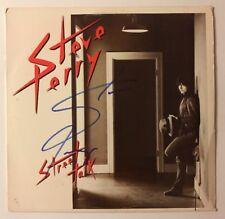Steve Perry Signed Street Talk Vinyl LP JSA COA # R52188 Autographed Journey