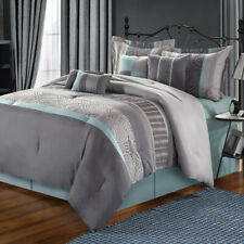 Chic Home Euphoria Comforter Polyester Bed In A Bag Set - 8 Piece