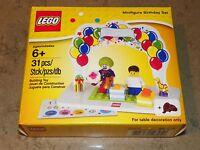 LEGO SET 850791 MINIFIGURE BIRTHDAY SET CAKE TOPPER NEW IN BOX