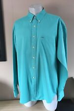Sarga Arandela De hombre GANT Vintage Manga Larga Botones camisa tamaño XL