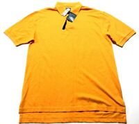 Jos A Bank Stays Cool New Mens Orange Polo Shirt Size Large