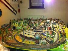 Riesige Komplettanlage Modellbahnanlage Diorama H0 viel Zubehör 40 Jahre gebaut!