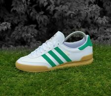❤ BNWB & Genuine adidas originals ® Jeans MkII White Leather Trainers UK Size 10