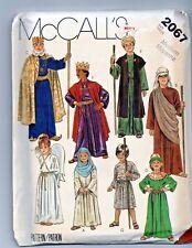 Vtg Children's Costume Nativity Robe Angel Pattern UNCUT Sz 8-10 Christmas Play